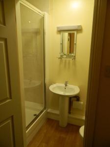 A bathroom at The Royal Oak