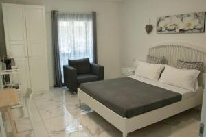 A bed or beds in a room at CENTRALE