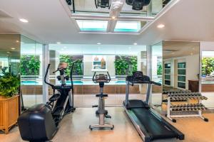 The fitness center and/or fitness facilities at At 21 Saladaeng