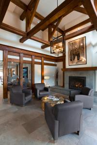 A seating area at High Country Inn