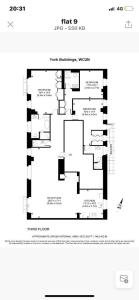 The floor plan of Arcore Premium Rental The Strand