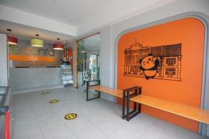 The lobby or reception area at Recenta Style Phuket Town - SHA Plus