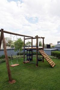 Children's play area at Max Executive Apartments