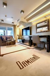 A seating area at Damianii Luxury Boutique Hotel & Spa