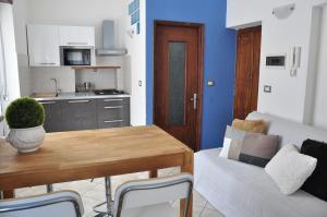 Küche/Küchenzeile in der Unterkunft Casa Del Re