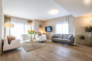 A seating area at Niebieski Art Hotel & Spa