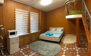 Кровать или кровати в номере Port House