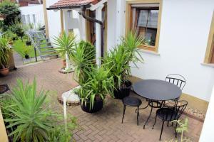 Ein Patio oder anderer Außenbereich in der Unterkunft Ferienwohnungen Louisenblick