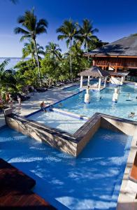 The swimming pool at or near Fitzroy Island Resort