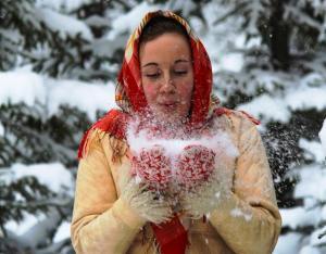Mora Hotell & Spa under vintern