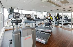 The fitness center and/or fitness facilities at Novotel Glasgow Centre