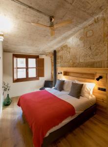 Cama o camas de una habitación en ERASMUS PLAZA