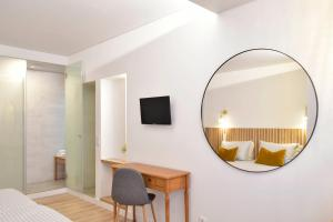 A television and/or entertainment center at Residencial Fortunato