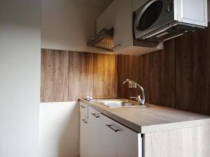 Küche/Küchenzeile in der Unterkunft HABRUCK 27 - Ferienwohnungen an der Wachau