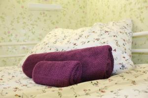 Кровать или кровати в номере Hostel Nika-City