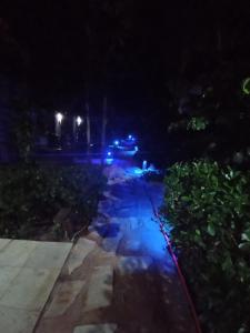 Uma vista da piscina em Pousada Cabana ou nos arredores