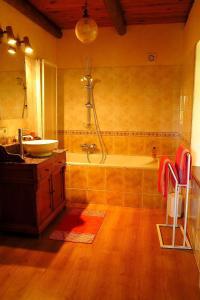 Salle de bains dans l'établissement L'Horizon Vert