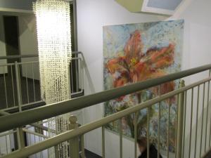 En balkong eller terrasse på Art-Hotel Erlangen
