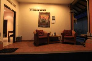 A seating area at Duana's Homestay