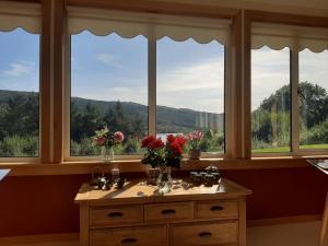Vista general de una montaña o vista desde el bed & breakfast