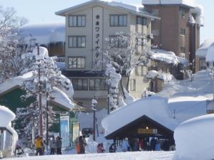 Akakura Wakui Hotel during the winter