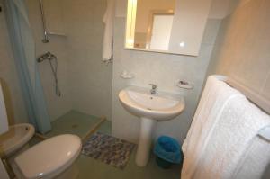 A bathroom at Albergo Del Santuario