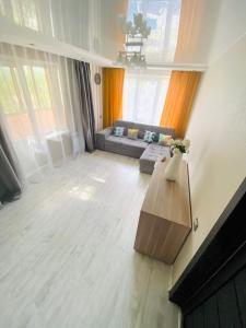 Гостиная зона в Apartment Chkalova