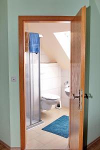 Ванная комната в Gasthaus Schadde