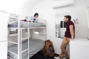 A bunk bed or bunk beds in a room at Railway Square YHA