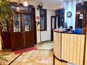 The lobby or reception area at Pousada Fortal Villa Praia
