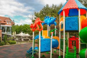 Children's play area at Vila Radailiai - Dinosaur Park