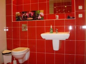 Ванная комната в Стрекоза Комнаты в частном доме