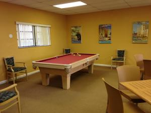 A pool table at Surfsider Resort - A Timeshare Resort