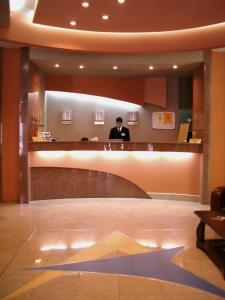 The lobby or reception area at Hotel Astoria City Center
