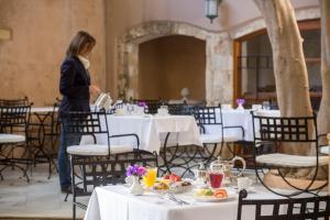 Restauracja lub miejsce do jedzenia w obiekcie Casa Delfino Hotel & Spa