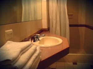 A bathroom at Casa de Baraybar