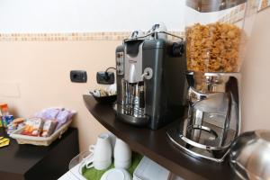 Set per la preparazione di tè e caffè presso Alla Torretta BB