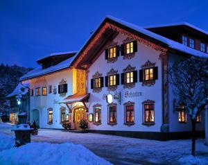 Hotel Schatten im Winter