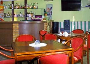 The lounge or bar area at Pils