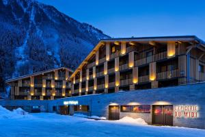 Heliopic Hotel & Spa during the winter