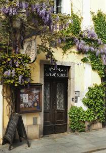 The facade or entrance of Penzion Kamenne Slunce
