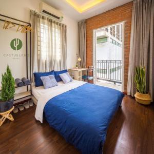 A room at Cactusland Homestay - Tran Hung Dao