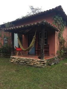 A porch or other outdoor area at Iracema Pouso Agroecológico