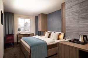 A room at Landhotel Spornitz