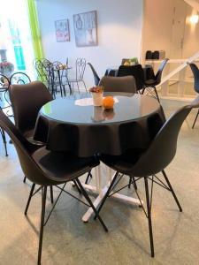 En restaurang eller annat matställe på Pronova Hotell & Vandrarhem