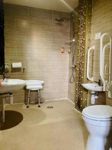 A bathroom at 30 James Street