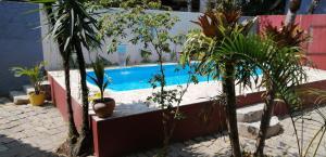 The swimming pool at or close to Pousada Bela Paraty