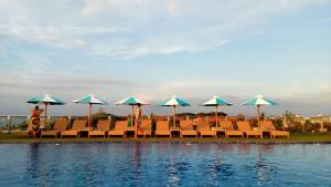 The swimming pool at or near Sulis Beach Hotel & Spa