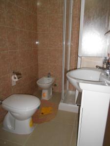 A bathroom at Casa Batti