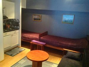 A seating area at Ämmän Hotelli